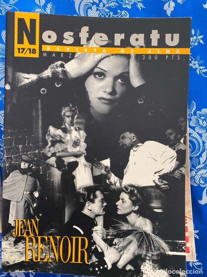 NOSFERATU REVISTA DE CINE Nº 17-18 JEAN RENOIR (Cine - Revistas - Otros)