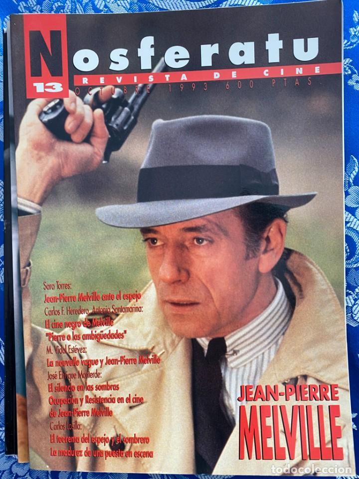 NOSFERATU REVISTA DE CINE Nº 13 JEAN PIERRE MELVILLE (Cine - Revistas - Otros)