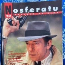 Cine: NOSFERATU REVISTA DE CINE Nº 13 JEAN PIERRE MELVILLE. Lote 238599445