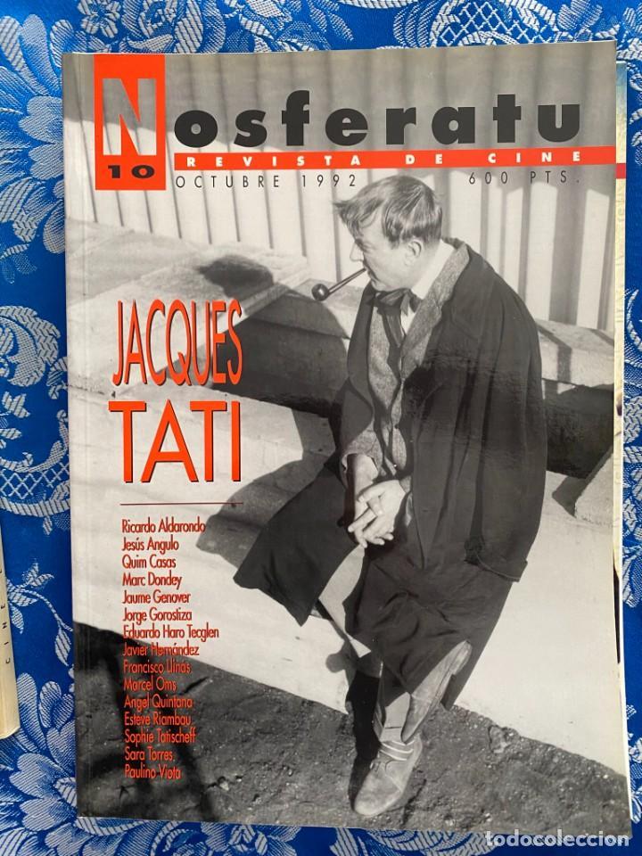 NOSFERATU REVISTA DE CINE Nº 10 JACQUES TATI (Cine - Revistas - Otros)