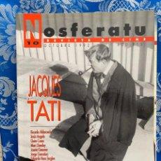 Cine: NOSFERATU REVISTA DE CINE Nº 10 JACQUES TATI. Lote 238599705