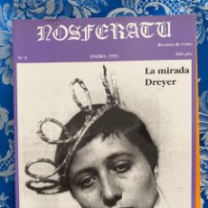 Cine: NOSFERATU REVISTA DE CINE Nº 5 LA MIRADA DREYER. Lote 238599955