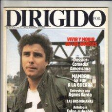 Cine: REVISTA DIRIGIDO POR Nº 136 AÑO 1986. DOSSIER COMEDIA AMERICANA. FALSO CULPABLE. AGNES VARDA.. Lote 238638210