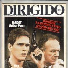 Cine: REVISTA DIRIGIDO POR Nº 138 AÑO 1986. JAIME CAMINO. BENALMÁDENA 86. TARGET. DOSSIER. LA GUERRA CIVIL. Lote 238638960