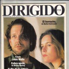 Cine: REVISTA DIRIGIDO POR Nº 157 AÑO 1988. LOUIS MALLE. COBRA VERDE. EL TUNEL. IMAGFIC 88.. Lote 238641490