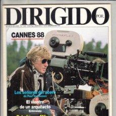 Cine: REVSITA DIRIGIDO POR Nº 159 AÑO 1988. LOS SEÑORES DE ACERO. MARIO MONICELLI. CANNES 88.. Lote 238644305