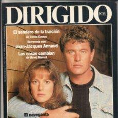 Cine: REVSITA DIRIGIDO POR Nº 165 AÑO 1989. EL SENDERO DE LA TRAICIÓN. CLINT EASTWOOD. FESTIVAL DE VENECIA. Lote 238644865