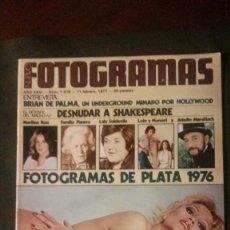 Cine: FOTOGRAMAS 1478-ISABEL LUQUE-TERESA GIMPERA-ROMY SCHNEIDER-TEDDEY BAUTISTA-LOS CANARIOS-PEPE MUNNÉ. Lote 238727150