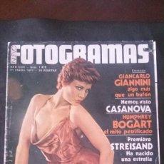 Cine: FOTOGRAMAS 1475-ROSA VALENTY-BARBRA STREISAND-CASANOVA-BEATLES-CHARLTON HESTON. Lote 238733850