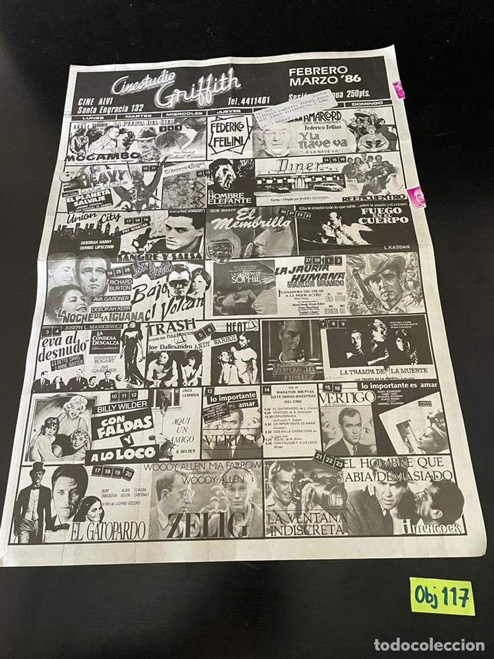FOLLETOS DE CINESTUDIO. AÑOS 80. (Cine - Reproducciones de carteles, folletos...)