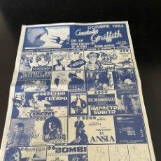 Cine: FOLLETOS DE CINESTUDIO. AÑOS 80.. Lote 239429250