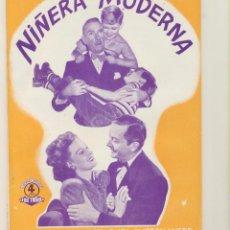 Cinéma: NIÑERA MODERNA. EDICIONES BISTAGNE. SIN ABRIR. 72 PÁGINAS CON FOTOS DE LA PELÍCULA. Lote 239445165