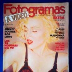 Cinema: FOTOGRAMAS - JULIO AGOSTO - 1989 - N° 1754. Lote 239466855