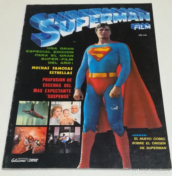 REVISTA MONOFRÁFICA SUPERMAN FILM - EDICIONES VÉRTICE (Cine - Revistas - Otros)