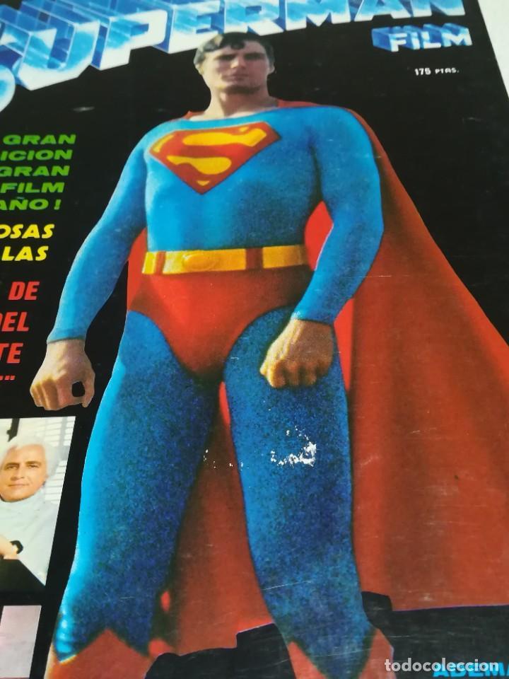 Cine: REVISTA MONOFRÁFICA SUPERMAN FILM - EDICIONES VÉRTICE - Foto 2 - 239664460