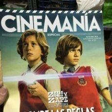 Cinema: REVISTA CINEMANIA #217 ZIPI AND ZAPE ON COVER. Lote 239957945