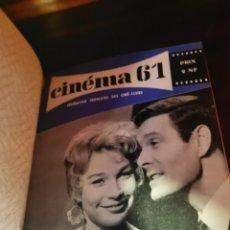 Cine: ALBUNES DE REVISTAS CINEMA 17 TOMOS. Lote 240167500