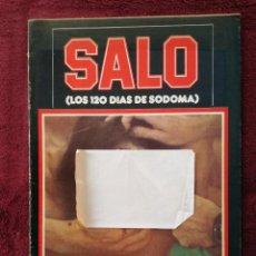 Cine: SALO LOS 120 DIAS DE SODOMA PIER PAOLO PASOLINI. Lote 240288685