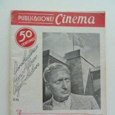 Cine: DOROTEA WIECK EN LA BANDERA AMARILLA. PUBLICACIONES CINEMA Nº 5. Lote 240386250