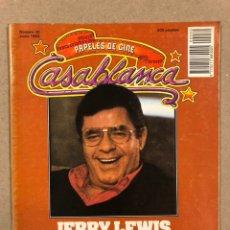 Cine: PAPELES DE CINE CASABLANCA N° 30 (1983). JERRY LEWIS, J.L. BORAU, JOHN WILLIAMS, VON TROTTA,.... Lote 240495180