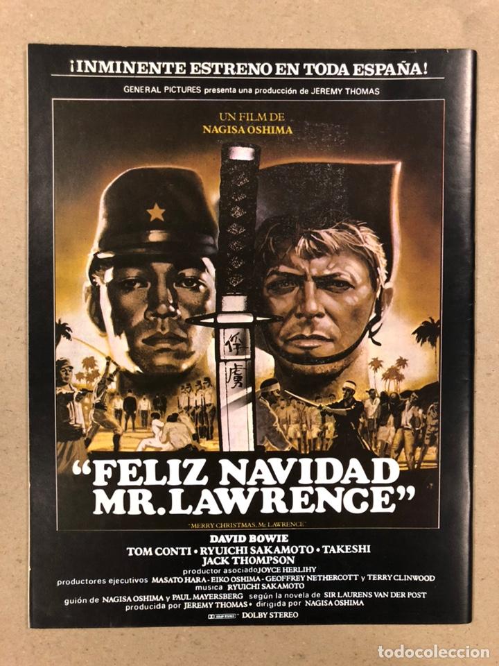 Cine: PAPELES DE CINE CASABLANCA N° 33 (1983). 31º FESTIVAL DE SAN SEBASTIÁN, GIL PARRONDO, CINE ESPAÑOL - Foto 3 - 240496715