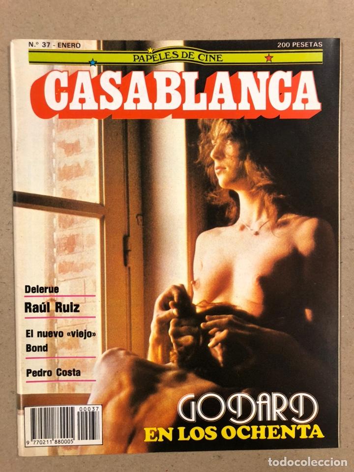 PAPELES DE CINE CASABLANCA N° 37 (1984). JEAN LUC GODARD, RAÜL RUIZ, PEDRO COSTA,... (Cine - Revistas - Papeles de cine)