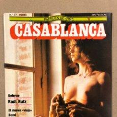 Cine: PAPELES DE CINE CASABLANCA N° 37 (1984). JEAN LUC GODARD, RAÜL RUIZ, PEDRO COSTA,.... Lote 240499565