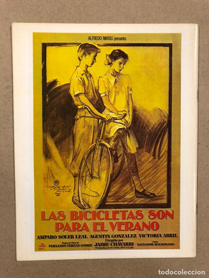 Cine: PAPELES DE CINE CASABLANCA N° 38 (1984). VICTORIA ABRIL, ANTOLOGÍA TRUFFAUT, HARVEY KEITEL,... - Foto 3 - 240500295