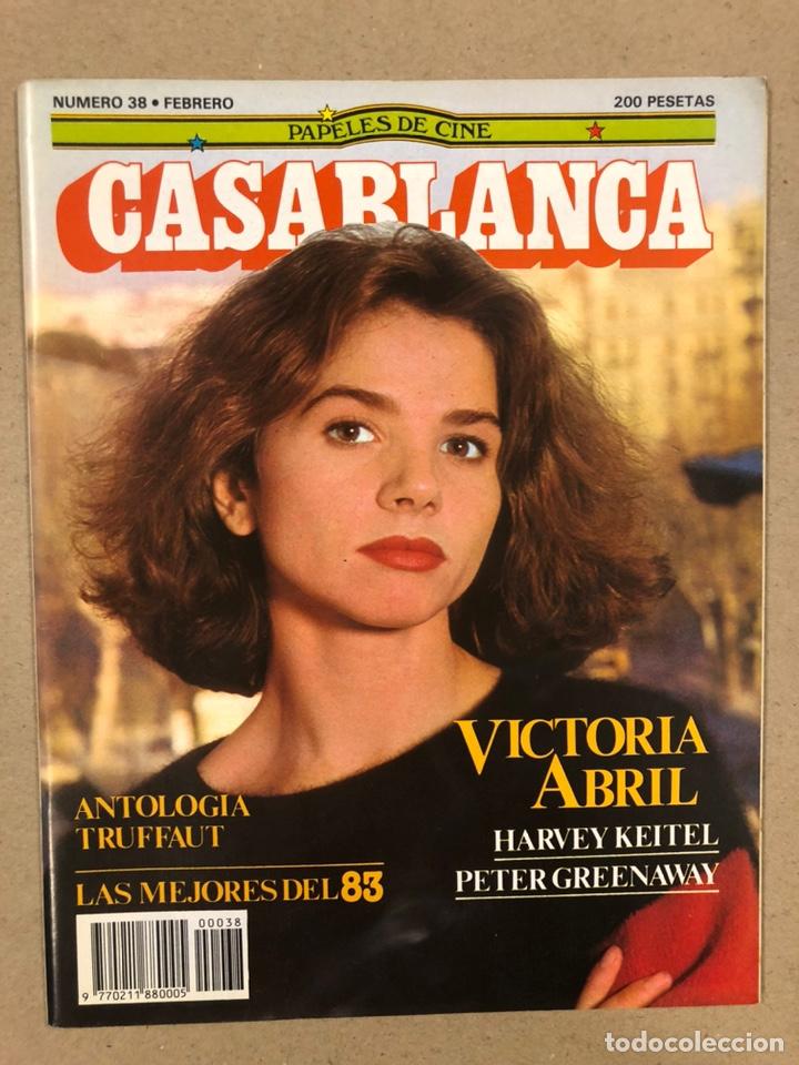 PAPELES DE CINE CASABLANCA N° 38 (1984). VICTORIA ABRIL, ANTOLOGÍA TRUFFAUT, HARVEY KEITEL,... (Cine - Revistas - Papeles de cine)