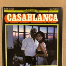Cine: PAPELES DE CINE CASABLANCA N° 39 (1984). GONZALO SUÁREZ, VICENTE ARANDA, JEAN RENOIR,.... Lote 240500945
