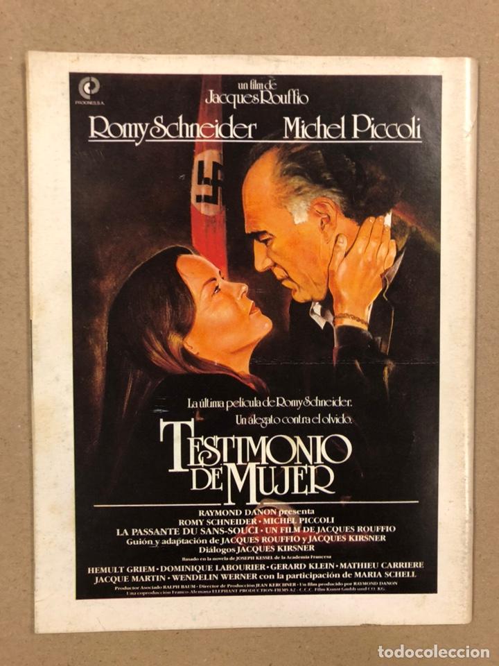 Cine: PAPELES DE CINE CASABLANCA N° 40 y 41 (1984). LOS SANTOS INOCENTES, HITCHCOCK, COPPOLA,... - Foto 3 - 240501510