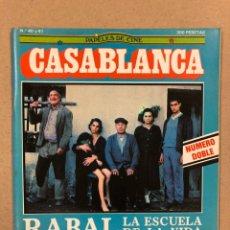 Cine: PAPELES DE CINE CASABLANCA N° 40 Y 41 (1984). LOS SANTOS INOCENTES, HITCHCOCK, COPPOLA,.... Lote 240501510