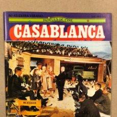 Cine: PAPELES DE CINE CASABLANCA N° 43 (1984). ESPECIAL ALFRED HITCHCOCK, CANNES '84,.... Lote 240504050