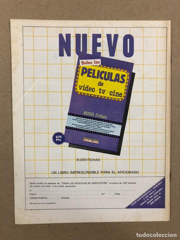 Cine: PAPELES DE CINE CASABLANCA N° 44 (1984). ESPECIAL ALFRED HITCHCOCK Y JEAN RENOIR, VENECIA '84,... - Foto 3 - 240504565