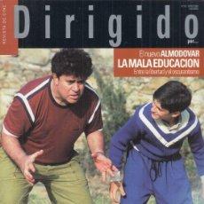 Cine: REVISTA DIRIGIDO POR Nº 332 AÑO 2004. LA MALA EDUCACION. BIG FISH. ROBERT WISE. LA MATANZA DE TEXAS.. Lote 240727005