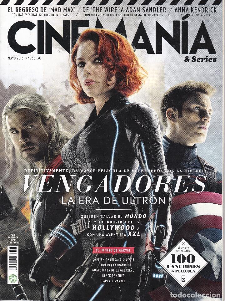 REVISTA CINEMANIA Nº 236: VENGADORES LA ERA DE ULTRON (Cine - Revistas - Cinemanía)
