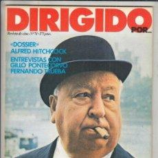Cinema: REVISTA DIRIGIDO POR Nº 74 AÑO 1980. DOSSIER ALFRED HITCHCOCK. GILLO PONTECORVO. FERNNANDO TRUEBA.. Lote 241122815