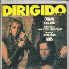 Cinema: REVISTA DIRIGIDO POR Nº 92 AÑO 1982. DOSSIER EROTISMO Y PORNOGRAFÍA. CONAN. KING-KONG. CARLES MIRA.. Lote 241256945
