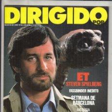 Cinema: REVISTA DIRIGIDO POR Nº 98 AÑO 1982. ET STEVEN SPILBERG. SITGES. MANUEL GUTIERREZ. ROBERTO BODEGAS.. Lote 241260810