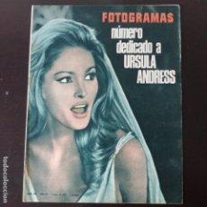 Cinema: FOTOGRAMAS: NUMERO 899 - 7 ENERO 1966 / URSULA ANDRESS. Lote 241638215