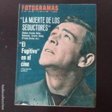 Cinema: FOTOGRAMAS: NUMERO 911 - 1 ABRIL 1966 / SEAN CONNERY. Lote 241648010