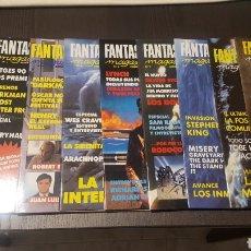 Cine: REVISTA - FREDDY FANTASTIC MAGAZINE - 0 AL 11 - COMPLETA - PRIMERA EPOCA TERROR, SCIFI. Lote 241800505