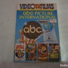 Cinema: REVISTA VIDEO TV FILMS Nº 47. Lote 241865095
