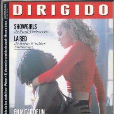 Cine: REVISTA DIRIGIDO POR Nº 240 AÑO 1995. SHOWGIRLS. LA RED. EN MITAD DE UN CRUDO INVIERNO. CLOCKERS.. Lote 241894785