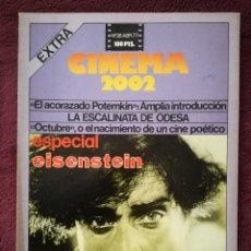 Cine: REVISTA CINEMA 2002 Nº 26 - 1977 - ESPECIAL SERGEI EISENTEIN. Lote 241897070