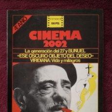 Cine: REVISTA CINEMA 2002 Nº 37 - 1978 - ESPECIAL LUIS BUÑUEL. Lote 241897270