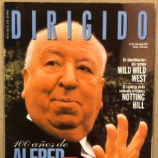 Cine: DIRIGIDO POR N° 281 (1999). DOSSIER ESPECIAL ALFRED HITCHCOCK, WILD WILD WEST,.... Lote 241918875