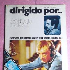 Cine: REVISTA CINE DIRIGIDO POR Nº 22 - FRANCOIS TRUFFAUT - GONZALO SUAREZ. Lote 242145130