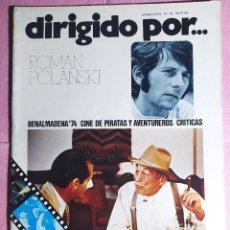 Cine: REVISTA CINE DIRIGIDO POR Nº 21 - BILLY WILDER - JACK LEMMON - BUSTER KEATON. Lote 242146285