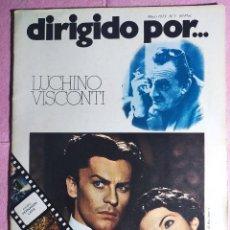 Cine: REVISTA CINE DIRIGIDO POR Nº 7 - LUCHINO VISCONTI. Lote 242146890